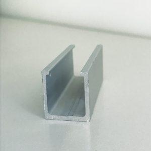 Anodēts alumīnija U - veida profils; alumīnija profili; alumīnijs