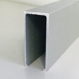 Anodēts alumīnija U - veida profils