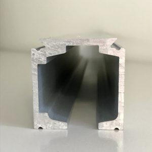 Alumīnija augšējais profils; alumīnija profili; anodēts alumīnijs