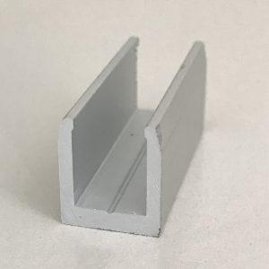 Anodēts alumīnija U - veida profils; alumīnija profili