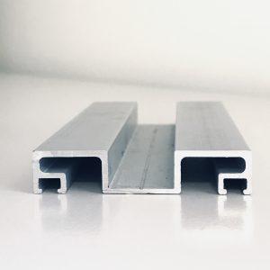 Anodēts alumīnija piespiedējprofils; alumīnija profili; anodēts alumīnijs; pilnstikla starpsienas